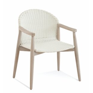 Shinecock Teak Patio Dining Chair by Braxton Culler