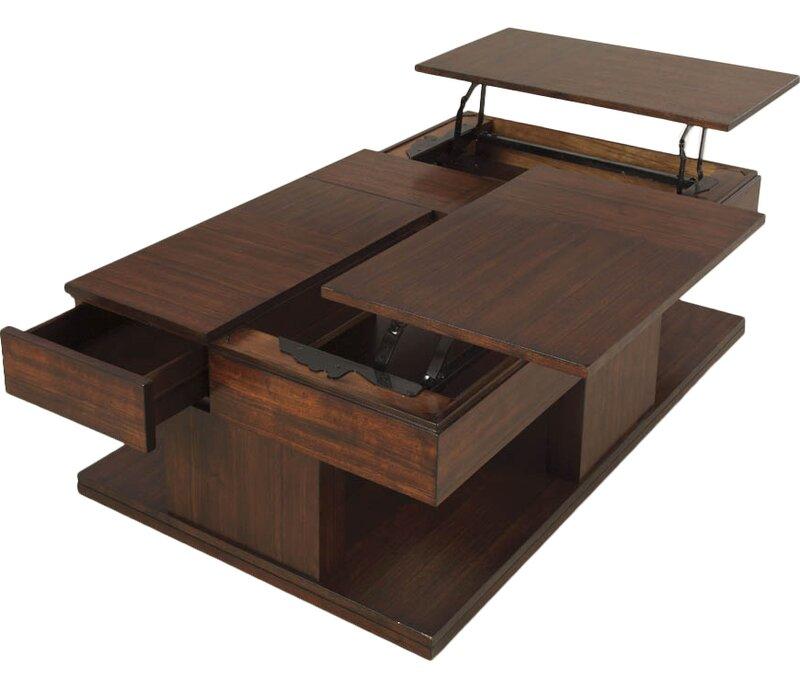 Darby Home Co Janene Lift Top Coffee Table Reviews Wayfair