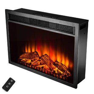 Gilcrease Electric Fireplace Insert by Charlton Home