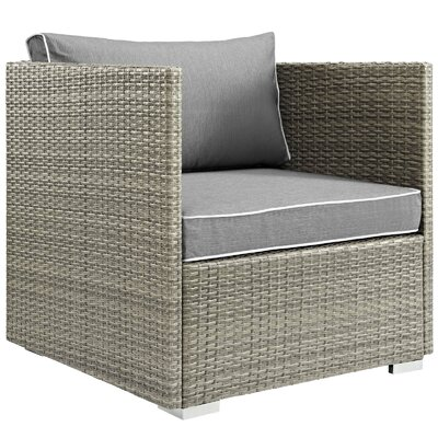 Outdoor Patio Chair With Cushion Fabric