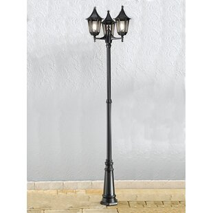 Tourelle 3 Light 255cm Post And Lantern Set By Marlow Home Co.