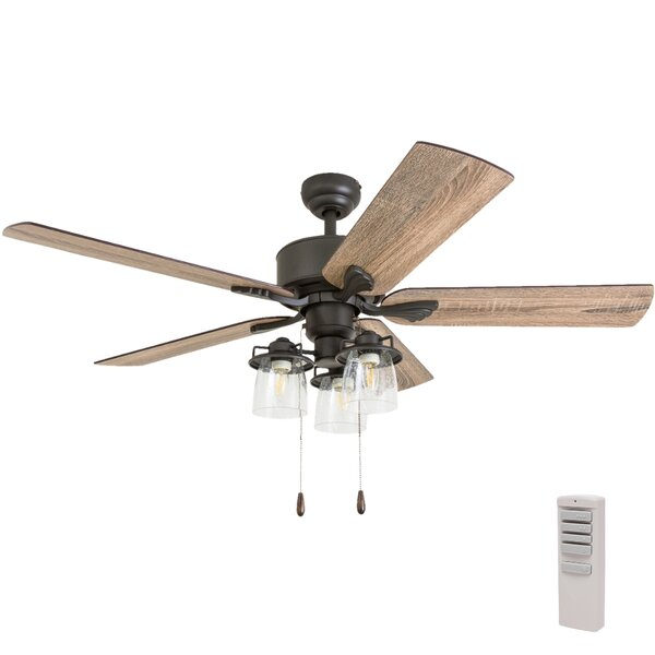 52 Inch Ceiling Fan With Light Wayfair