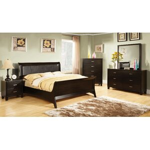 Upholstered Sleigh Bed by ..