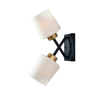 Duncanson 2-Light Armed Sconce By Ivy Bronx Wall Lights