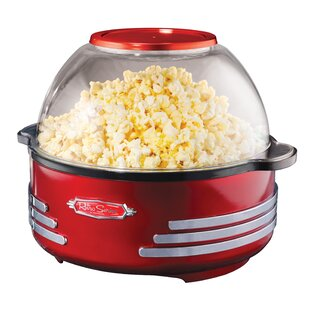 Nostalgia 6-Quart Stirring Popcorn Popper