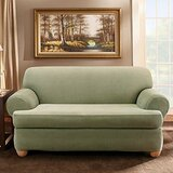 Fabulous Sage Green Loveseat Covers Wayfair Dailytribune Chair Design For Home Dailytribuneorg