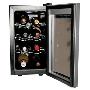 8 Bottle Single Zone Freestanding Wine Cooler by Koolatron