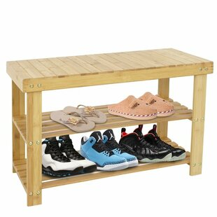 Shop for 8 Pair Stackable Shoe Storage Bench By Rebrilliant