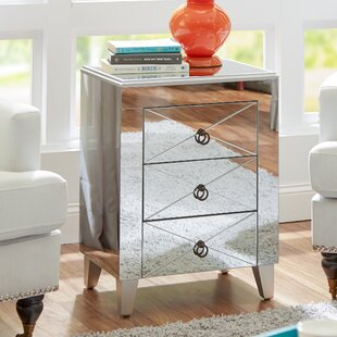 Linnea End Table with Storage