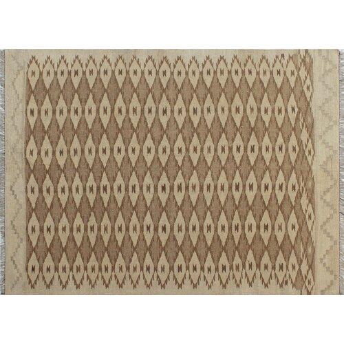 Bungalow Rose Runner Corda Geometric Handmade Kilim Wool Rust Area Rug Wayfair