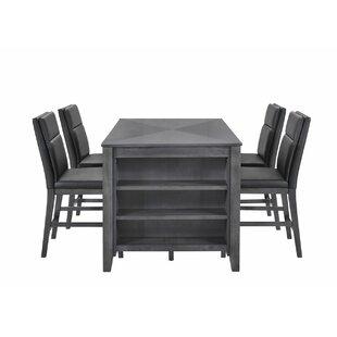 Ebern Designs Oak Hill Counter Height Din..