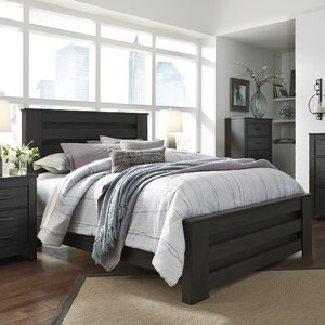 White Platform Full Bed