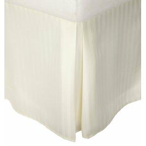 Charlotte Microfiber Striped Bed Skirt