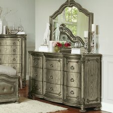 Liola 9 Drawer Dresser with Mirror by Astoria Grand