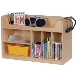 Best Reviews 5 Compartment Cubby with Casters ByAngeles