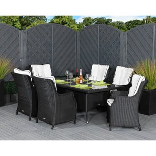 Fernandez 6 Seater Dining Set With Cushions Image