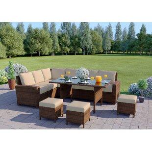 9 Seater Rattan Sofa Set Image
