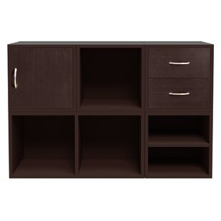 Hazelwood Home Carrabba Storage Cube Unit Bookcase