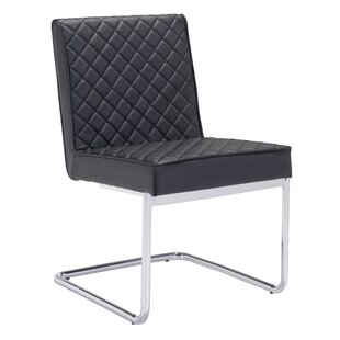Peter Quilted Side Chair (Set of 2) by Wade Logan