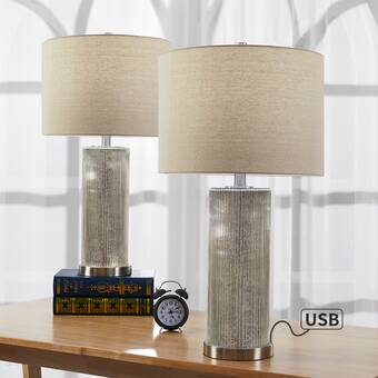 Latitude Run Esben 26 Table Lamp Set Reviews Wayfair