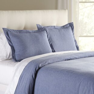 Jackie Chambray Duvet Cover