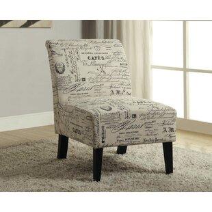 Amazing Travis French Script Fabric Side Chair Ibusinesslaw Wood Chair Design Ideas Ibusinesslaworg