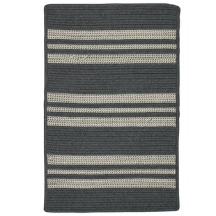 Neponset Hand-Woven Gray Indoor/Outdoor Area Rug