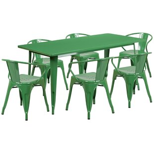Fuad 7 Piece Dining Set