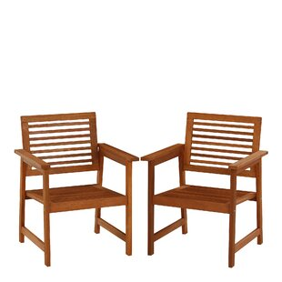 Arianna Patio Dining Armchair (Set Of 2) By George Oliver