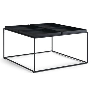 Baudette Coffee Table with Tray Top