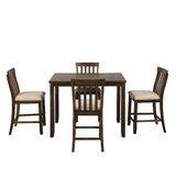 Gracie-May 5 Piece Counter Height Dining Set by Red Barrel Studio®