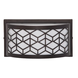 Blakely LED Outdoor Sconce With Motion Sensor by Ivy Bronx Best #1