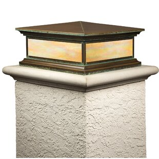 Longshore Tides Alvin Window Shallow Column 1-Light Pier Mount Light