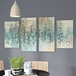 4 piece wall art painting revealed framed piece set on canvas wall art sets youll love wayfair