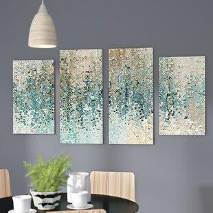 U0027Revealedu0027 Framed 4 Piece Set On Canvas