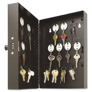 Hook-Style Key Cabinet by ..
