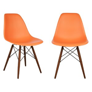 harrison solid wood dining chair set of 2