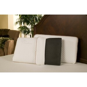 Ventilated Rayon from Bamboo Charcoal Memory Foam Pillow by Blissful Nights