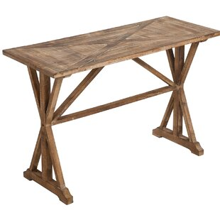 Union Rustic Mathison Wooden Console Table