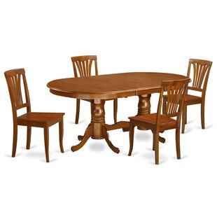 Newton 5 Piece Dining Set by Wooden Impor..