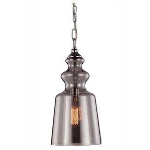 Rosdorf Park Elissa 1-Light Bell Pendant