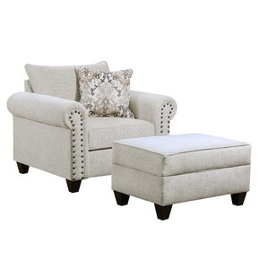 Dillard Armchair by Simmons Upholstery by Alcott Hill