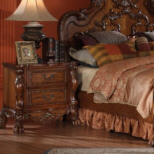 Welliver 2 Drawer Nightstand