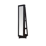 Cleorand Free standing Jewelry Armoire with Mirror