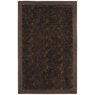 Animal Hide Brown/Black Fur Area Rug ByAcura Rugs