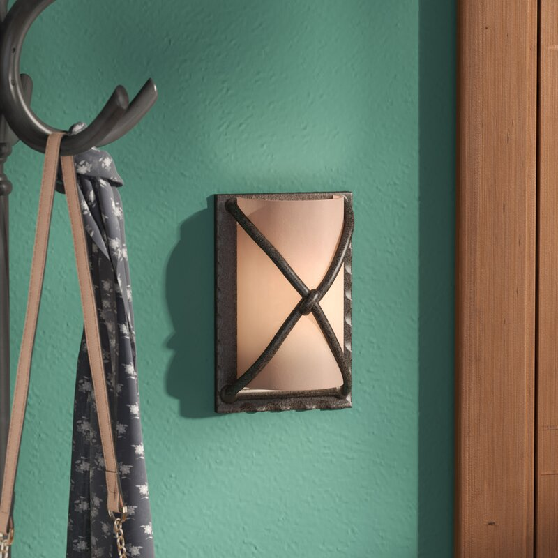 Basement Wall Sconces Part - 20: Barleria 1-Light Wall Sconce