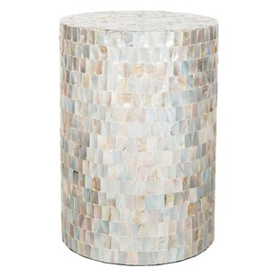 Buy clear Hinnenkamp Accent Stool by Highland Dunes