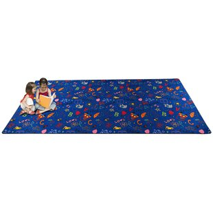 Look for Playtime Doodle Blue Area Rug ByKid Carpet