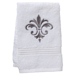 Midland Fleur De France Terry Cloth Cotton Fingertip Towel