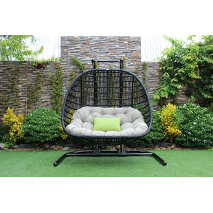 Greenburgh Outdoor Swing Chair by Bayou Breeze